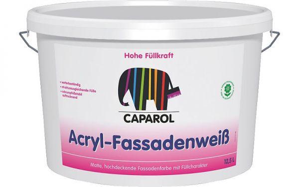 Caparol Acryl Fassadenweiß